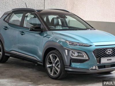 Hyundai Kona 2020 ra mắt tại Malaysia với giá chỉ từ 640 triệu VNĐ